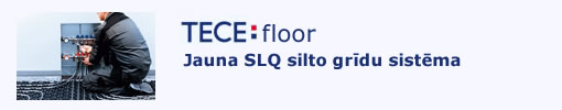 tece floor siltās grīdas